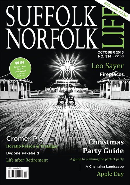 Suffolk Norfolk Life Magazine October 2015 Regional Country Places Faces Diary Food Lifestyle