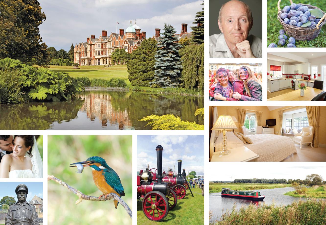 Suffolk Norfolk Life Magazine September 2015 Sandringham House, Jasper Carrott, Woolpit Steam Rally, Weddings, Competition