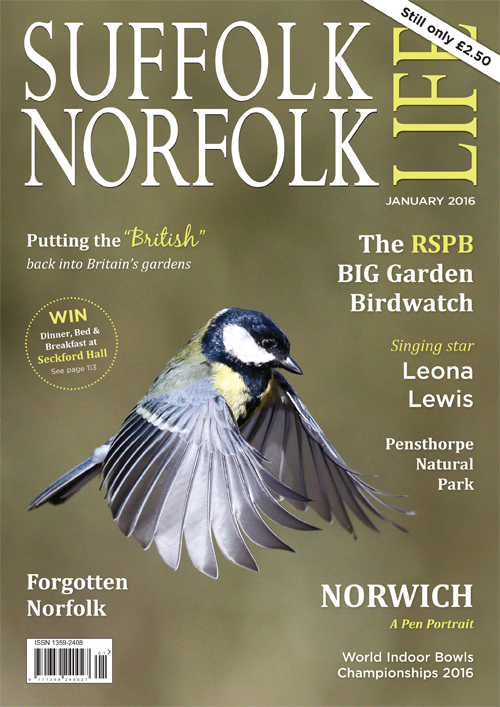 Suffolk Norfolk Life Magazine January 2016