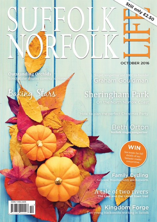 Suffolk Norfolk Life Magazine October 2016