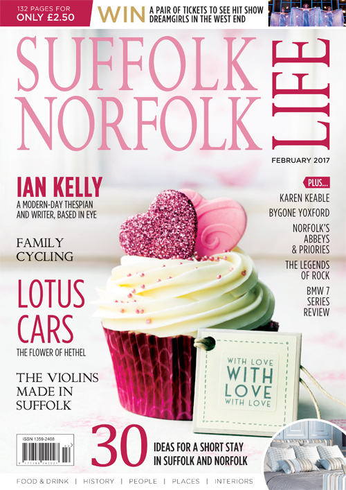 Suffolk Norfolk Life Magazine February 2017