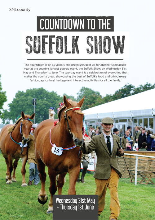 Suffolk Show 2017 Preview