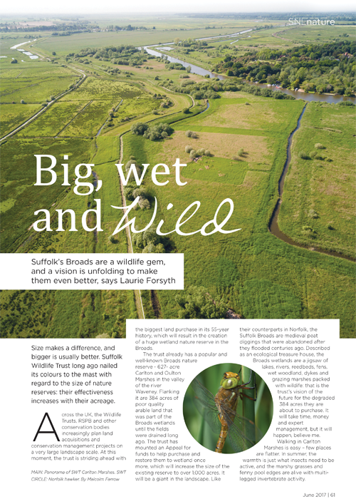 big wet and wild suffolk broads