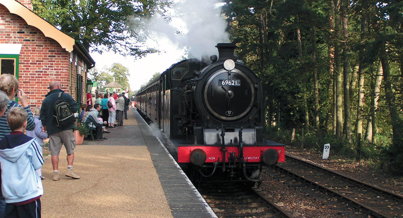 the preserved railways of east anglia