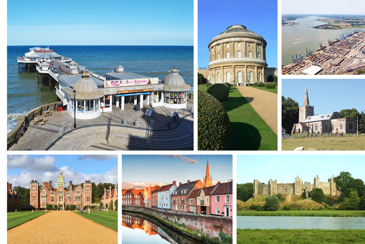 Suffolk Norfolk Life magazine places to visit, villages, towns across East Anglia