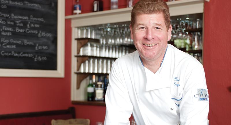 mark sayers saracens head chef