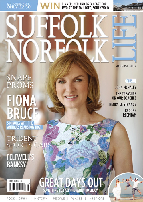 Suffolk Norfolk Life August 2017