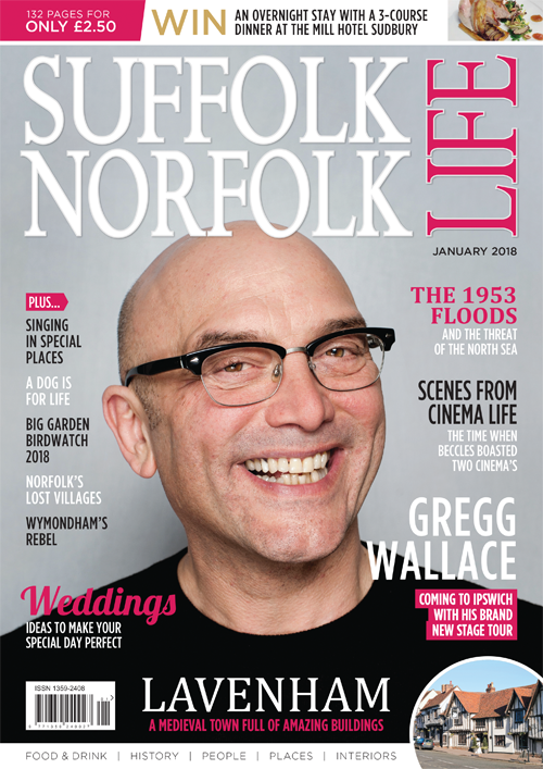 "Suffolk Norfolk Life January 2018"" width="