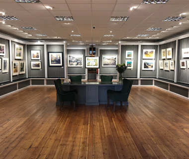 Adrian Hill Fine Art and The Gallery