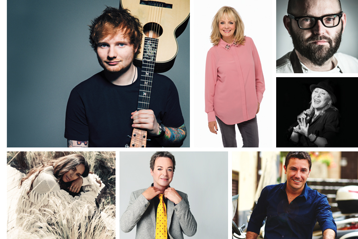 Suffolk Norfolk Life magazine celebrity interview and famous faces coming to East Anglia